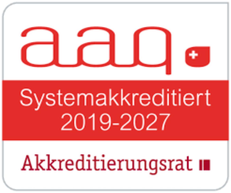 Akkreditierungs-Siegel Lehramt 2019 - 2027